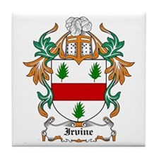 Irvine Coat of Arms Tile Coaster