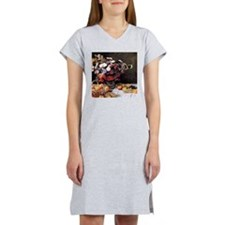 Claude Monet Flowers And Fruits Women's Nightshirt