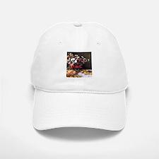Claude Monet Flowers And Fruits Baseball Baseball Cap