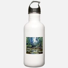 Monet Bridge Over Water Lily Pond Water Bottle