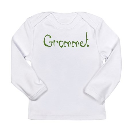Grommet Long Sleeve Infant T-Shirt