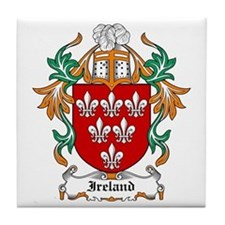 Ireland Coat of Arms Tile Coaster