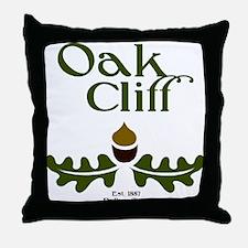Oak Cliff Classic Throw Pillow