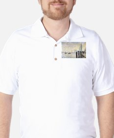 Claude Monet Westminster Bridge T-Shirt