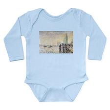 Claude Monet Westminster Bridge Long Sleeve Infant