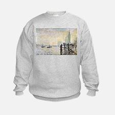 Claude Monet Westminster Bridge Sweatshirt