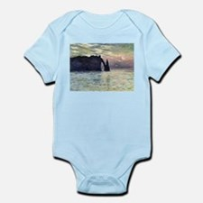 Claude Monet The Manneport Infant Bodysuit