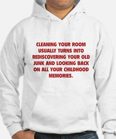 Cleaning Your Room Hoodie