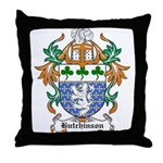 Hutchinson Coat of Arms Throw Pillow