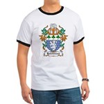 Hutchinson Coat of Arms Ringer T