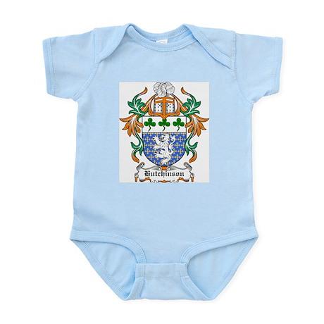 Hutchinson Coat of Arms Infant Creeper