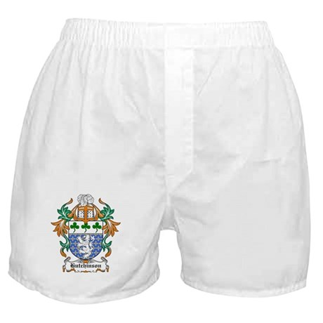 Hutchinson Coat of Arms Boxer Shorts