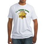 Border Patrol Badge Fitted T-Shirt