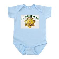 Border Patrol Badge Infant Creeper