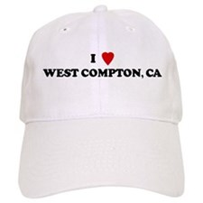 I Love WEST COMPTON Baseball Cap