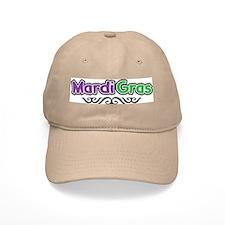 Mardi Gras Baseball Cap