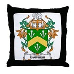Howman Coat of Arms Throw Pillow