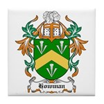 Howman Coat of Arms Tile Coaster