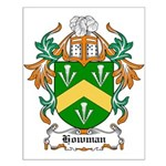 Howman Coat of Arms Small Poster