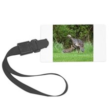 Turkey and Rabbit Luggage Tag