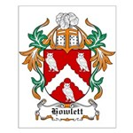 Howlett Coat of Arms Small Poster