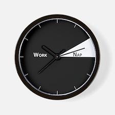 Work/Nap Wall Clock