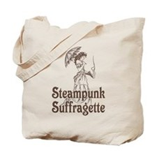 Steampunk Suffragette Tote Bag