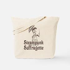 Steampunk Suffragette Tote Bag