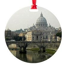 Vatican and Tiber River - Square.jpg Ornament