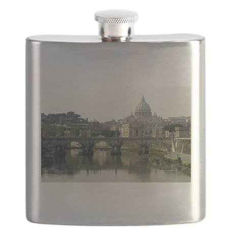 Vatican and Tiber River - horizontal 2.jpg Flask