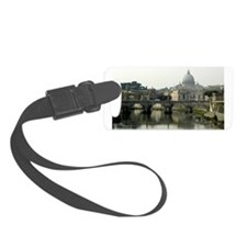 Vatican and Tiber River - horizontal 2.jpg Luggage Tag