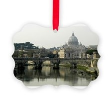 Vatican and Tiber River - horizontal 2.jpg Ornament