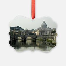 Vatican and Tiber River - horizontal 2.jpg Ornament