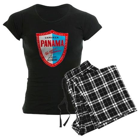 Panama Beer Label 1 Women's Dark Pajamas