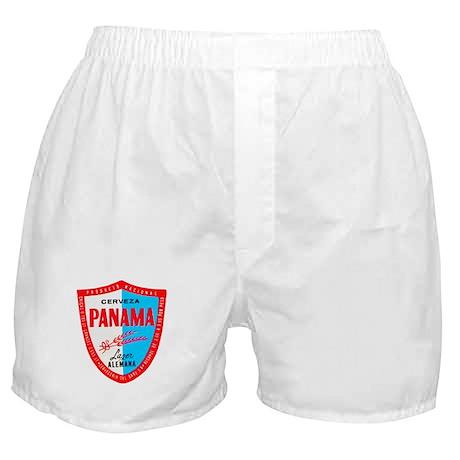 Panama Beer Label 1 Boxer Shorts