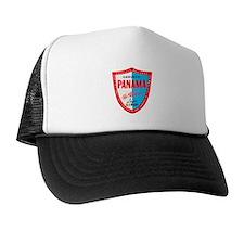 Panama Beer Label 1 Trucker Hat