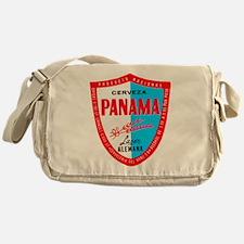 Panama Beer Label 1 Messenger Bag