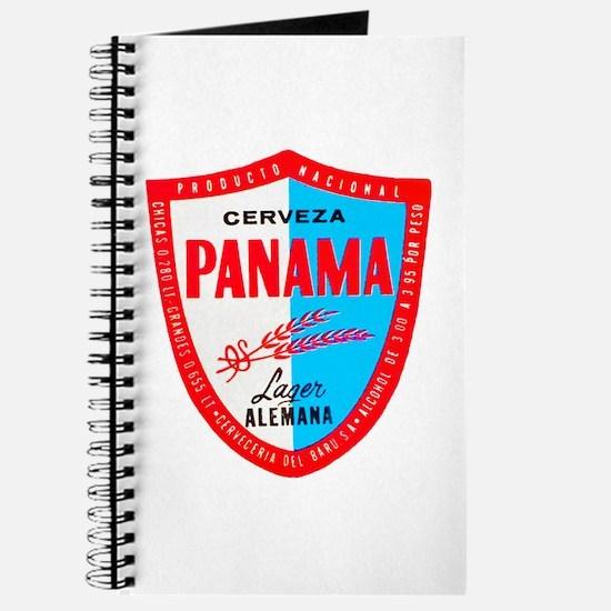 Panama Beer Label 1 Journal