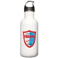 Panama Beer Label 1 Water Bottle