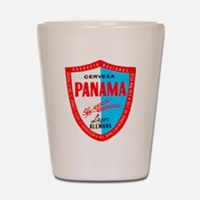 Panama Beer Label 1 Shot Glass