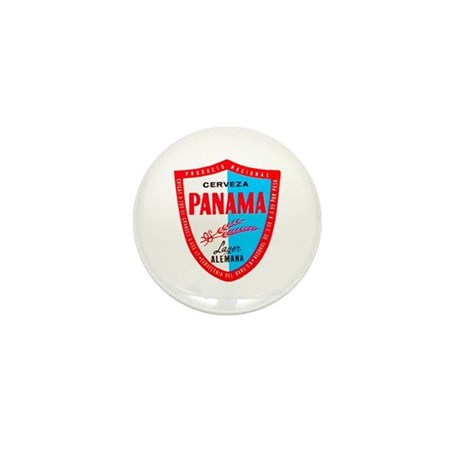 Panama Beer Label 1 Mini Button (100 pack)