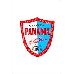 Panama Beer Label 1 Posters