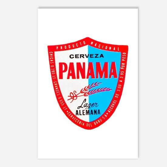 Panama Beer Label 1 Postcards (Package of 8)