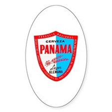 Panama Beer Label 1 Decal
