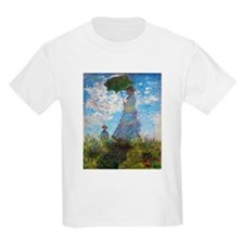 Monet Woman with a Parasol T-Shirt