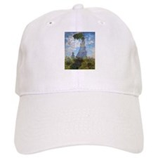 Monet Woman with a Parasol Baseball Cap