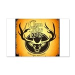 lodge logo 20x12 Wall Decal