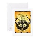 lodge logo Greeting Cards (Pk of 10)