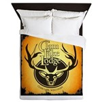 lodge logo Queen Duvet