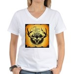 lodge logo Women's V-Neck T-Shirt